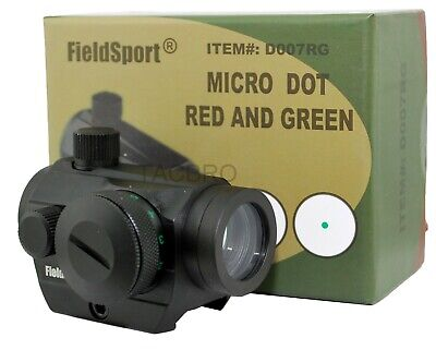 Field Sport Red and Green Micro Dot Sight - D007RG