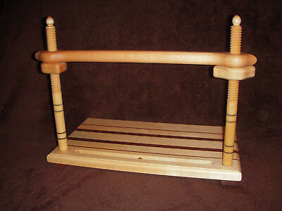 Bookbinding sewing frame, Victorian style, all wood book binding............3050