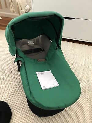 Mountain Buggy Carrycot Plus For Swift And MB Mini- Green