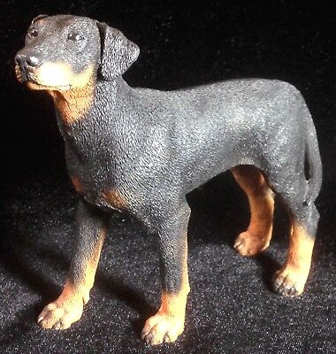 "NEW! Castagna Standing Doberman Pinscher Dog Figurine 5.5"" L Sculpture Statue"