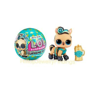 LOL Surprise! Limited Edition Supreme Pet Lucky Lux Authentic  LOL Ball MGA Doll