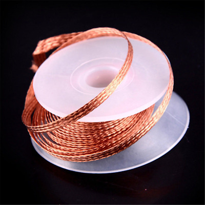 1 Roll 3.5mm 1.5M Desoldering Braid Solder Remover Wick Copper Wire Repair Tool