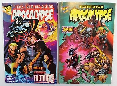 Tales from the Age of Apocalypse X-Men & Factor X Marvel 1996 TPB Graphic Novel