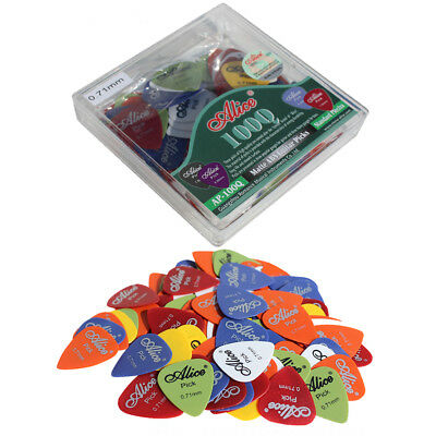 100Pcs Acoustic Electric Guitar Pick Plectrum Mixed Assorted Colors Supply