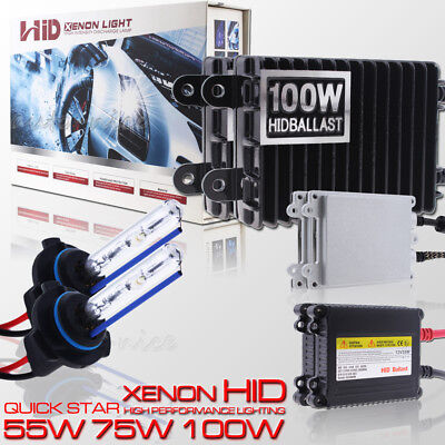 55W 9012 Xenon Headlight HID Conversion KIT For High Low Beam Lamp Quick Start