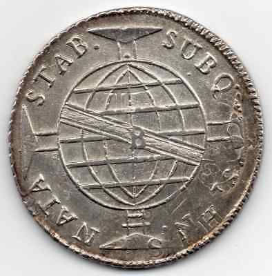 **rare** Uncirculated 1816 B Brazil 960 Reis (Clear Over Strike Showing)