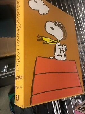 Celebrating Peanuts: 60 Years first edition huge giant fantastic book Schulz