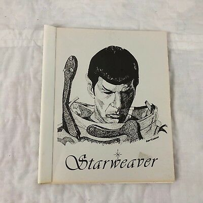 Star Trek TOC Starweaver Fanzine Magazine Vtg MISSING PAGES Spock 1980