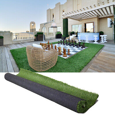 New Artificial Grass Lawn Synthetic Turf Landscape Indoor Outdoor 19.68/'/'