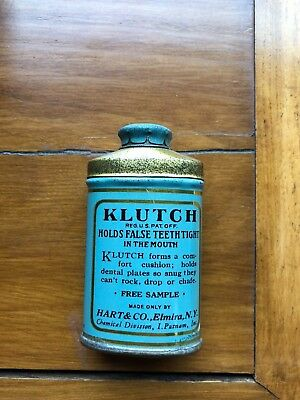Klutch Tooth Powder Tin Sample Size