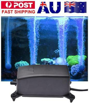 Mute Air Bubble Disk Stone Aquarium Aerator Fish Tank Pump Hydroponics Oxygen