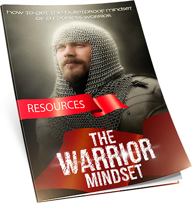 The Warrior Mindset PDF ebook Resell Rights Free Shipping