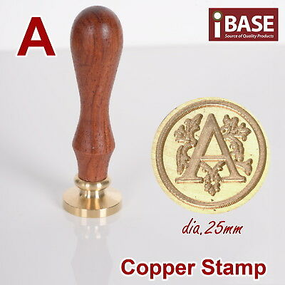 Vintage Letter Stamp A Sealing Wax Seal Stick Envelope Wedding Invitation Party