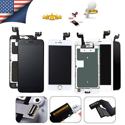 Lot for iPhone 8 7 6s 6 Plus SE LCD Touch Full Screen Replacement Button Camera