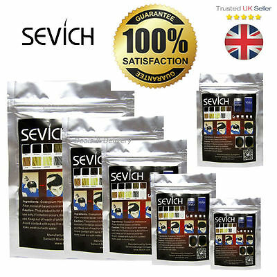 Sevich Refill Hair Fibers Keratin Building Thickening Fibre Loss 50 100g Packs