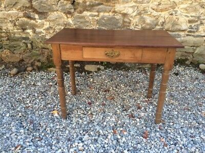 Late Victorian Pine  Hall Table / Desk