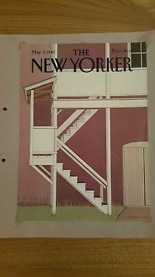 New yorker magazine 1982  Front Covers