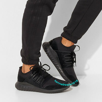 quality design d4584 514fa sweden adidas originals tubular radial triple black a9950 11d10