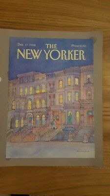 New Yorker Magazine Front Covers 1984