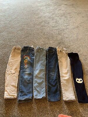 girls trousers 4/5 And 5/6 Next, H&M, Primark, TU