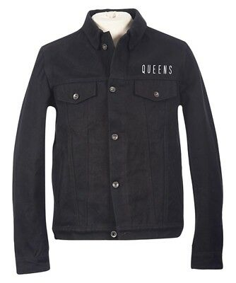 Queens Of The Stone Age 'Villains' Denim Biker Jacket - NEW & OFFICIAL!