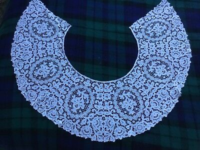 Vintage Victorian White Lace Collar