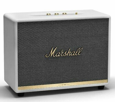 MARSHALL Woburn II Bluetooth Speaker - White - Currys