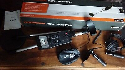 Visua Professional Metal Detector & Accessories  Used Once