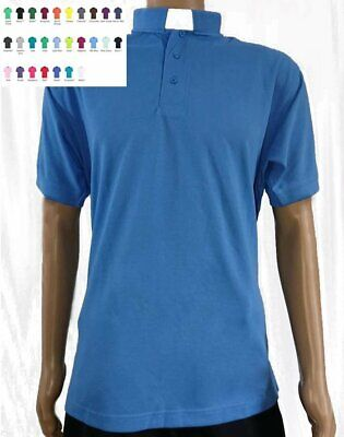 Mens Clerical Clergy Shirt - High Quality Superwash - 26 colours ALL SIZES