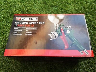 Parkside Air Paint Spray Gun PDFP 500 C3