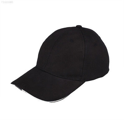 02CB Outdoor Unisex Adult 5 Lighted Cap Baseball Hat Fishing Hunting Camping Run
