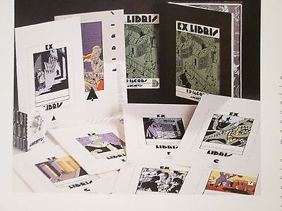 Jacobs Lot 2 Portfolios A Et B Blake Et Mortimer Archives Internationales 1991