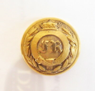Indian Army. Ferozepore Regiment Officer's Tunic Button