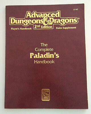 The Complete Paladins Handbook | AD&D 2nd edition | Players Handbook