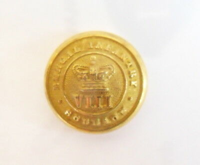 Indian Army. VIIIth Bengal Regiment Officer's Tunic Button