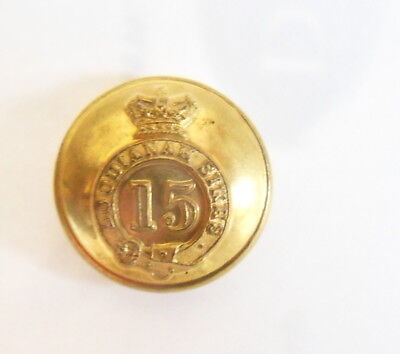 Indian Army. 15th Loodianah Sikhs Officer's Tunic Button