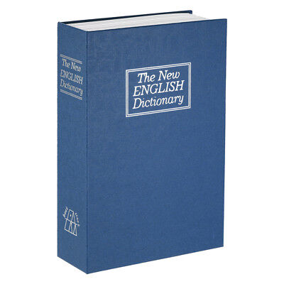 Security Hidden Safe Box with Combination Lock English Dictionary Diversion I4B6