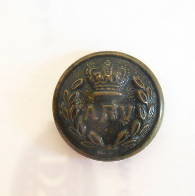 Indian Army. Allahabad Rifle Volunteers Other Ranks Tunic Button
