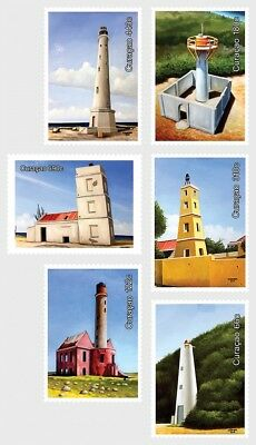 CURACAO 2018 Lighthouses - Set