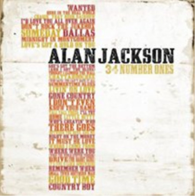 Alan Jackson-34 Numbers Ones (US IMPORT) CD NEW