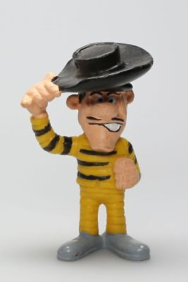 Figurine plastique Lucky Luke Joe Dalton saluant