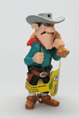 Figurine plastique Lucky Luke William Dalton sac à l'épaule