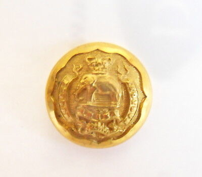 Indian Army. 2nd Madras Infantry Officer's Tunic Button