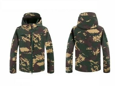 17's series China PLA Special Forces Digital Camo Winter Technical Jacket