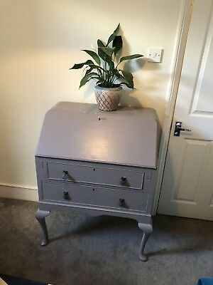 Beautiful Shabby Chic Writing Bureau painted farrow and ball paint