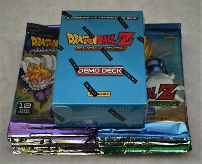 Dragonball Z Tcg Lot Of 48 Mixed Booster Packs  + Evolution Demo Deck New Sealed