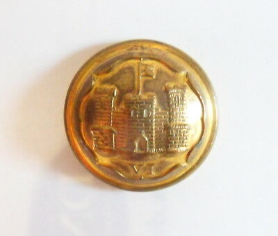 6th Inniskilling Dragoons Officer's Tunic Button