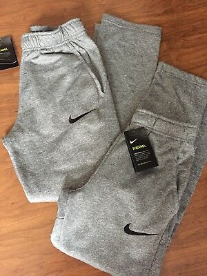 1607e934b149 NEW NIKE BOYS Therma Pants Size Large MSRP  40.00 Gray -  24.99 ...