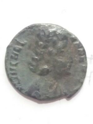 Roman bronze coin. Helena,mother of Constantine the Great.