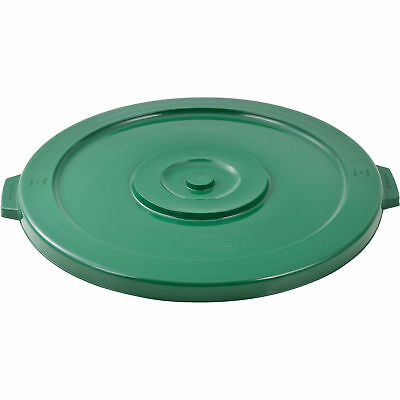 44 Gallon Garbage Can Lid, Green, Lot of 1